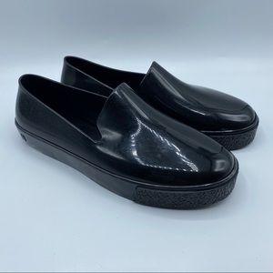 Melissa Sz 7 Ground II Black Loafers